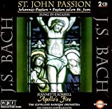 Bach: St. John Passion (Sung in English) / Sorrell, Morrell, Cleveland Baroque Orch