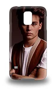 Protective Tpu 3D PC Case With Fashion Design For Galaxy S5 Johnny Depp American Male John Christopher Depp Charlie And The Chocolate Factory ( Custom Picture iPhone 6, iPhone 6 PLUS, iPhone 5, iPhone 5S, iPhone 5C, iPhone 4, iPhone 4S,Galaxy S6,Galaxy S5,Galaxy S4,Galaxy S3,Note 3,iPad Mini-Mini 2,iPad Air )