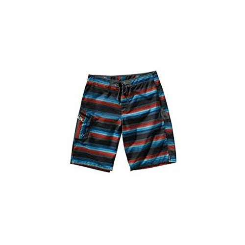 Matix Board Shorts Surf Trunks DANDY STRIPE BLACK Sz 28 Skate ()