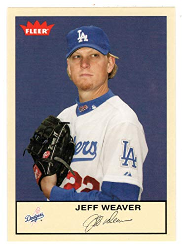 Weaver Baseball Jeff - Jeff Weaver (Baseball Card) 2005 Fleer Tradition # 133 NM/MT