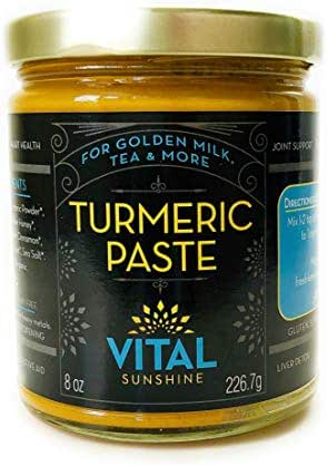 Turmeric Paste for Golden Milk, Turmeric Tea and Golden Lattes, Anti-Inflammatory,Made with Organic Ingredients Including Black Pepper for Better Absorption, 100% Natural