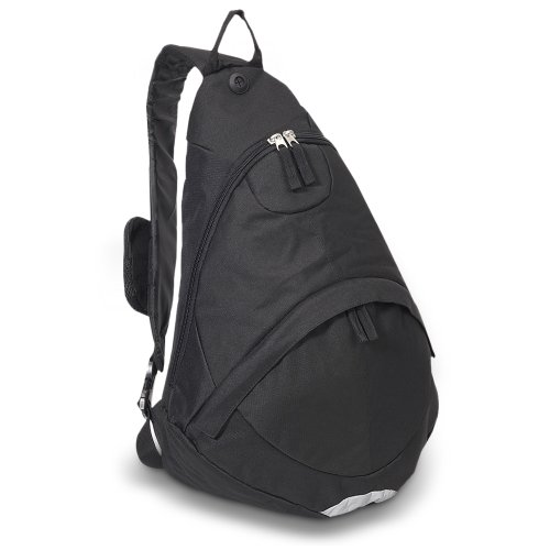 Everest Deluxe Sling Bag Color: Black
