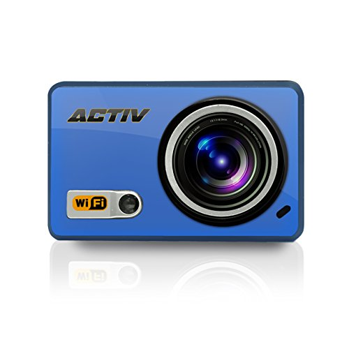 Sound Around GDV288BL HD Video Recording Gear Pro ACTIV Full HD 1080p Hi-Res Mini Sports Action Camera and Camcorder with Wi-Fi by Sound Around