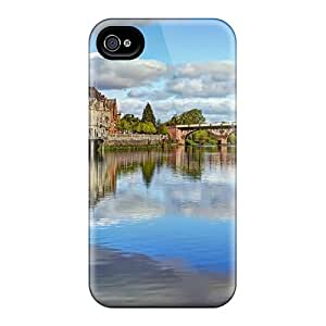 Hot Tpye Bridge In A Beautiful Old City Case Cover For Iphone 4/4s