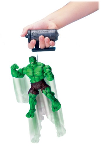"""Hulk: Super-Poseable Leaping Hulk 6.5"""" Action Figure by Toy Biz"""