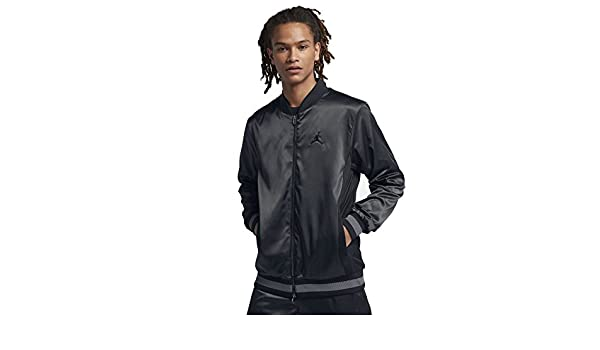 ea8b513561cc Jordan Satin Embroidered Full Zip Jacket Mens Style   Aq0938  Amazon.ca   Sports   Outdoors