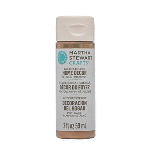 Martha Stewart Rose (Martha Stewart Crafts Home Decor Metallic Paint: Rose Gold (2 ounce))