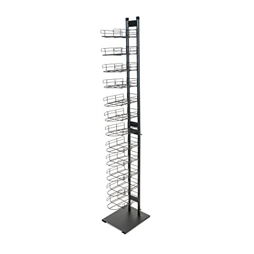 Wire Baseball Cap Display Rack, 12 Tier