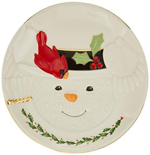 Lenox 879213 Happy Hollydays Cookie Plate, Multicolor