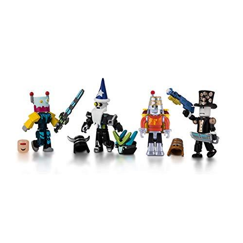 Roblox Mix & Match Action Figure 4 Pack, Robot Riot