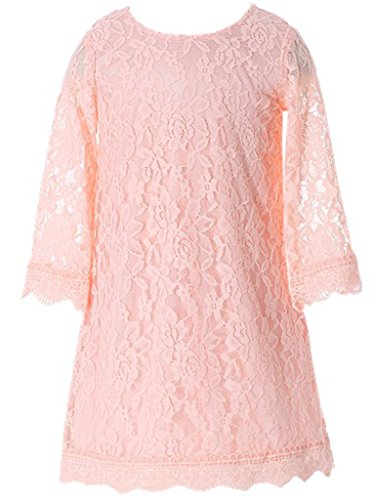 Bow Dream Flower Girl's Dress Pink 6 for $<!--$19.99-->