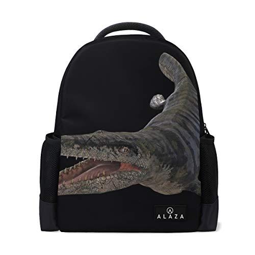 Backpack Animals Awesome Dinosaur Mens Laptop Backpacks Shoulder Hiking Daypack