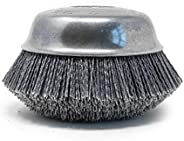 "Osborn - 00032131SP 32131Sp Abrasive Cup Brush, Silicon Carbide, 6000 Max RPM, 6"" Diameter"