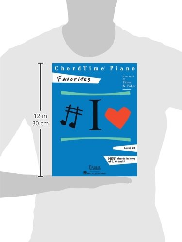 Chordtime Piano Favorites Level 2b Nancy Faber Randall Faber
