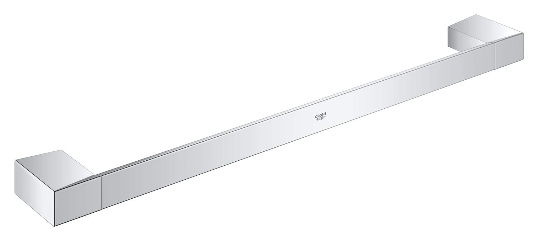 Polished Chrome Grohe 40767000 Selection Cube Towel Rail