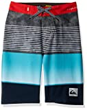 Quiksilver Boys' Big Highline Slab Youth 18 Boardshort Swim Trunk, Hibiscus, 25/10