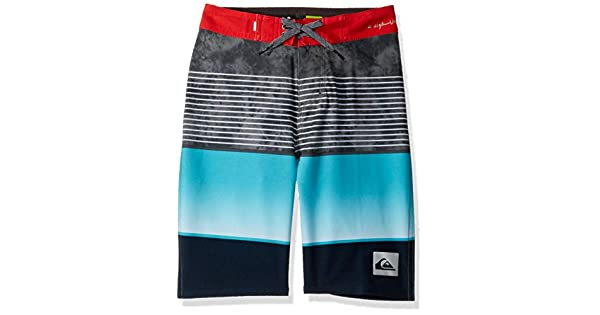 Hibiscus 26//12 Quiksilver Big Boys Highline Slab Youth 18 Boardshort Swim Trunk
