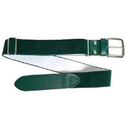 Wilson Adult Elastic Baseball Belt, Dark Green