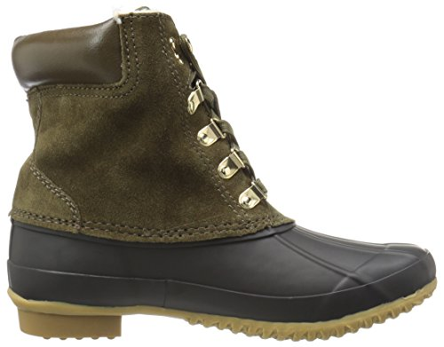 Joie Women's Delyth Snow Boot Deep Olive/Ivory 32sKIy