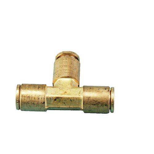 Orbit 10 Pack 3/8 Foot Brass Slip-Lok Mist System Tubing Tee by Orbit