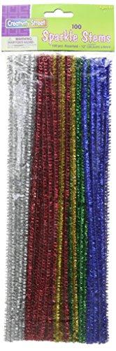 Chenille Kraft AC7116-01DI Sparkle Stems (Pack of 100)