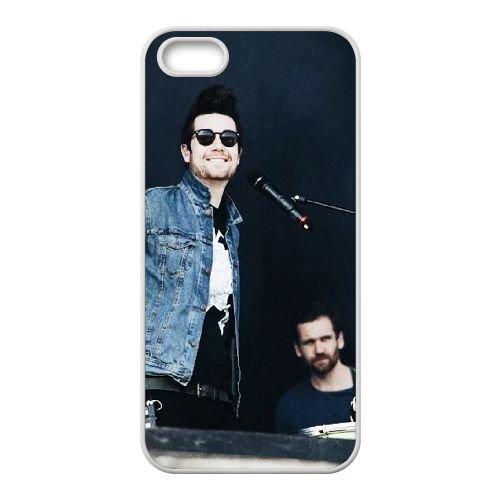 Bastille coque iPhone 4 4S Housse Blanc téléphone portable couverture de cas coque EBDOBCKCO10261