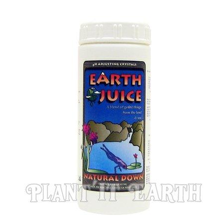 earth juice ph - 5