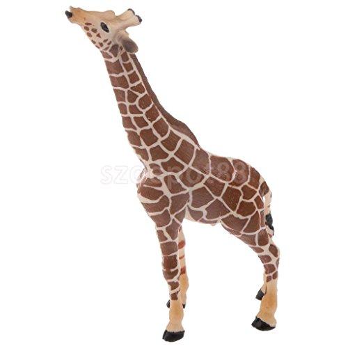 Realistic Giraffe Wildlife Zoo Animal Model Figurine Kids Party Bag Filler by uptogethertek
