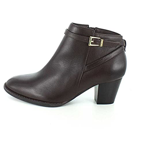 Vionic with Orthaheel Technology Womens Upton Ankle Bootie Java Boot - 7.5 M free shipping