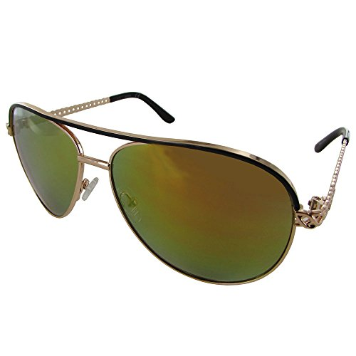 Womens GF0268 Aviator Fashion Sunglasses