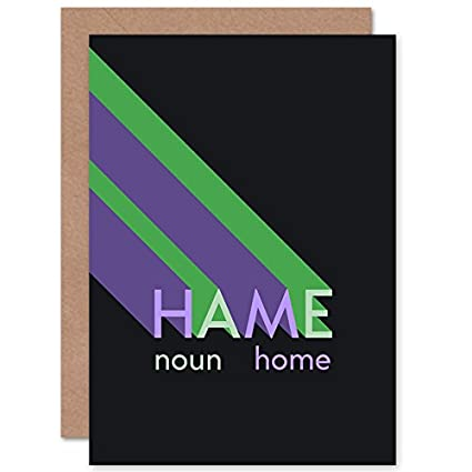 Amazon wee blue coo scottish word definition hame home scots wee blue coo scottish word definition hame home scots dictionary greetings card m4hsunfo