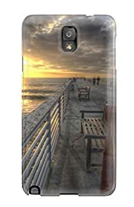 For Case HTC One M8 Cover Fashion Design Locations Hermosa Beach Nature Locations Case-FPMlNmN4732vUeLd