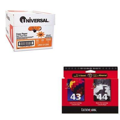 KITLEX18Y0372UNV21200 - Value Kit - Lexmark 18Y0372 Ink (LEX18Y0372) and Universal Copy Paper (UNV21200)