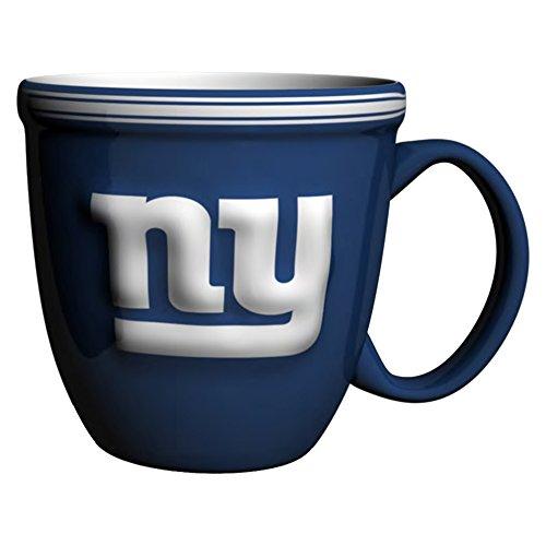 NFL New York Giants Bistro Mug, 15-ounce, Blue (Mug York Giants New)