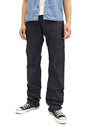 SAMURAI JEANS S0510XX Men's Jeans 15 Oz. One Wash Selvedge Denim From Japan (w33)