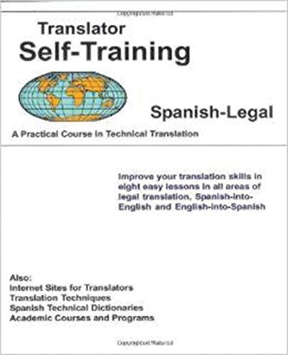 Translator Self Training Spanish-Legal