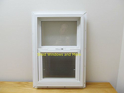 "Double Pane Insulated 18"" x 27"" Window Vinyl Moble Home T..."