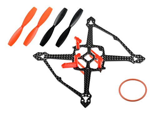 Microheli Carbon Fiber Frame with Propellers (RD) - MOBULA7 HD