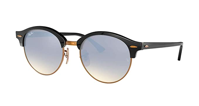 e751fcb0ed Image Unavailable. Image not available for. Color  Ray-Ban ClubRound RB4246  - 901 9U Sunglasses