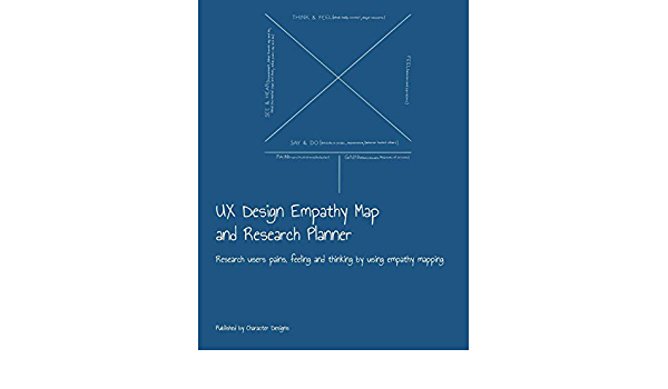 UX Design Empathy Map and Research Planner: Research users pains, feeling and thinking by using empathy mapping