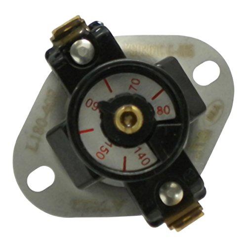 Protactor Adjustable Furnace Fan Control 140-180 Degree ()