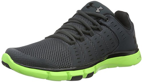 Under Armour Micro G Limitless Training 2, Herren Fitness-Schuhe, Grau (Stealth Gray), 42.5 EU