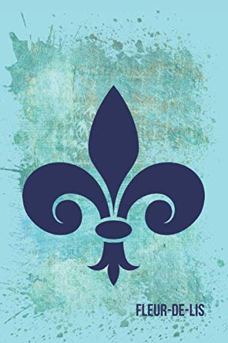 Fleur-de-lis: Blank Lined Journal (French Edition)]()