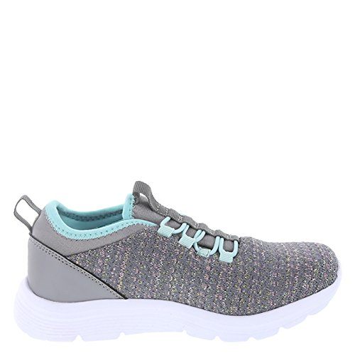Image of Champion Grey Girls' Moxie Slip-On Runner 13.5 Regular