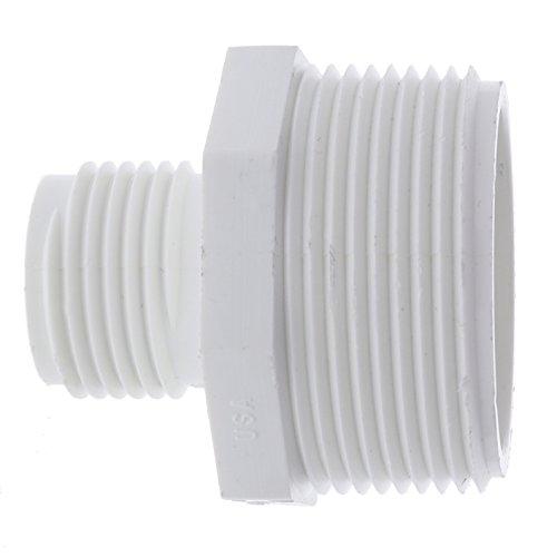 Dura Schedule 40 PVC MHT x MPT Adapter - MHT Size : 3/4 - MPT Size : 1-1/2 (Part 503-015)