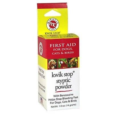 Pet Styptic Powder Benzocaine Bleed Stop 14 Gram