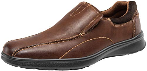 Pictures of JOUSEN Men's Loafers Leather Casual Slip On Shoes varies 1
