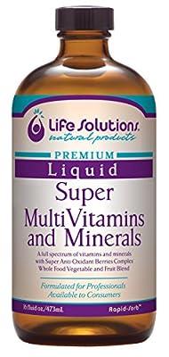 Liquid Children's Super MultiVitamins and Minerals - 16oz. - Life Solutions
