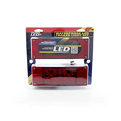 Optronics TLL160RK Red LED Combination Tail Light Kit: Automotive