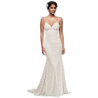 Soft Lace Wedding Dress with Low Back Style WG3827